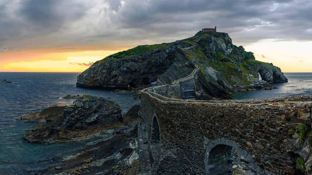 Imagem de um castelo medieval