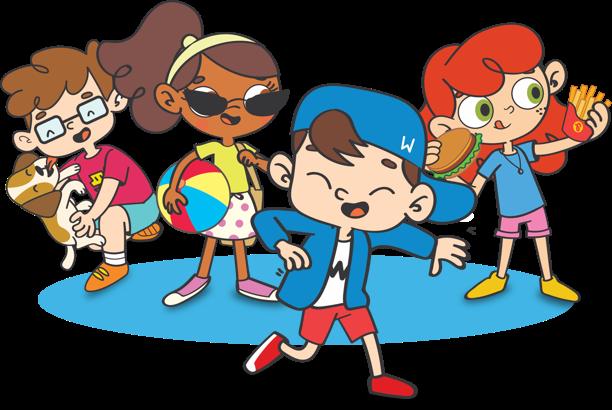 Wizkids, inglês para crianças que fica pra sempre