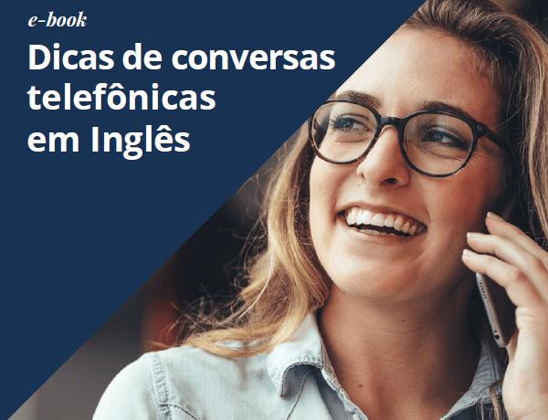 e-Book Dicas de conversas telefônicas em inglês