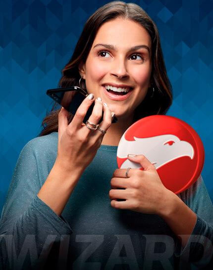 Mulher falando ao celular