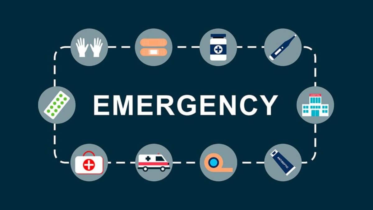 Ilustração escrita emergency