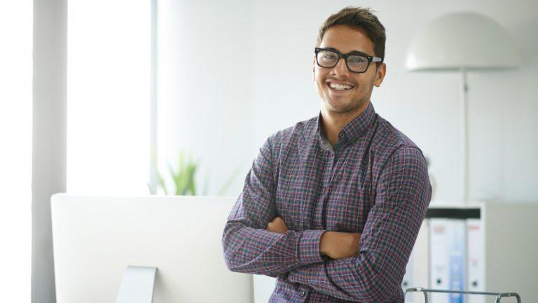 Homem empreendedor
