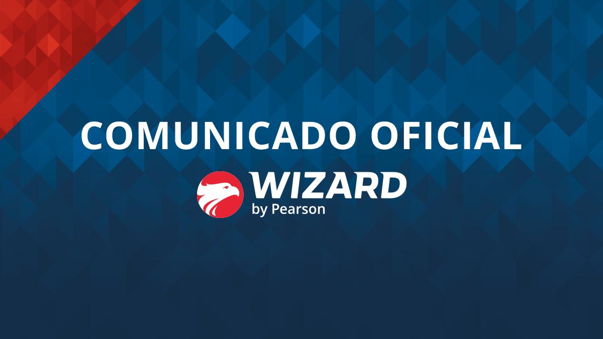 comunicado oficial wizard
