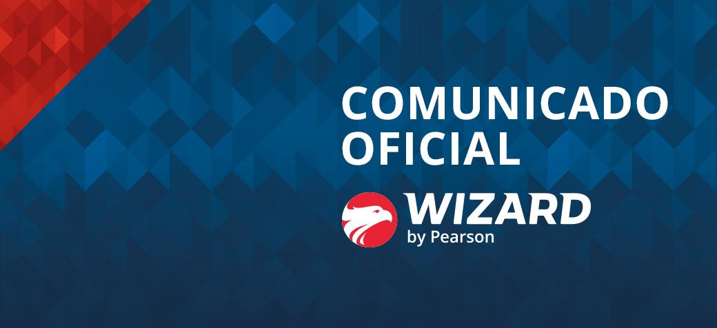 Comunicado Oficial Wizard by Pearson