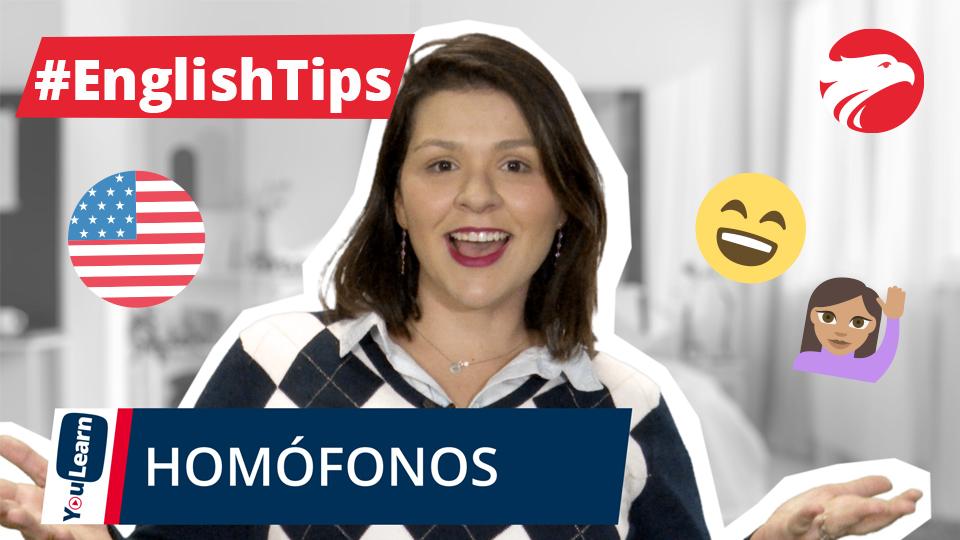 Professora Wizard Idiomas + Texto English Tips Homófonos