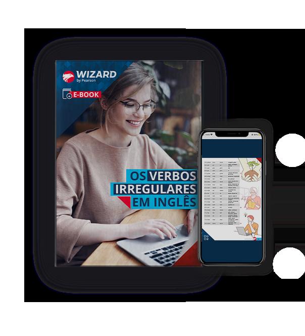 Capa do e-Books Os verbos irregulares em inglês