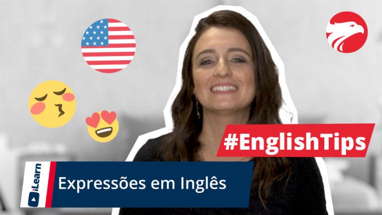 Professora de Inglês Wizard Idiomas + texto Expressões em Inglês