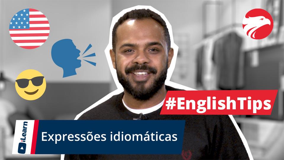 Professor da Wizard + Texto English Tips Expressões Idiomáticas