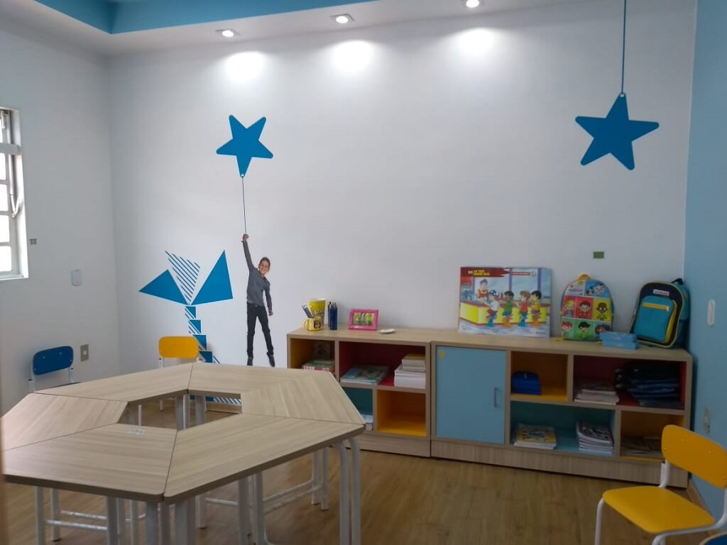 Sala de aula para crian�as Wizkids