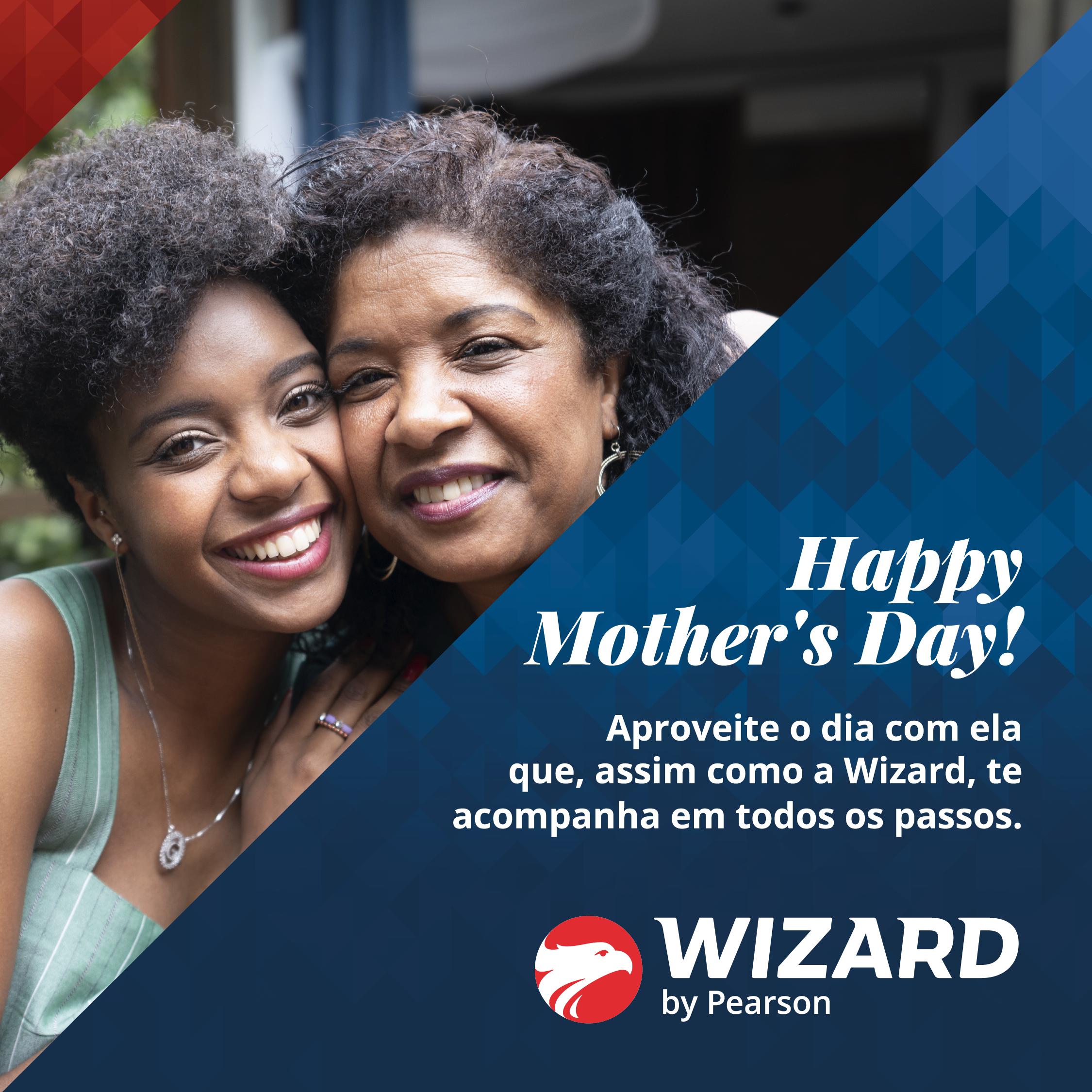 Feliz dia das mães Wizard