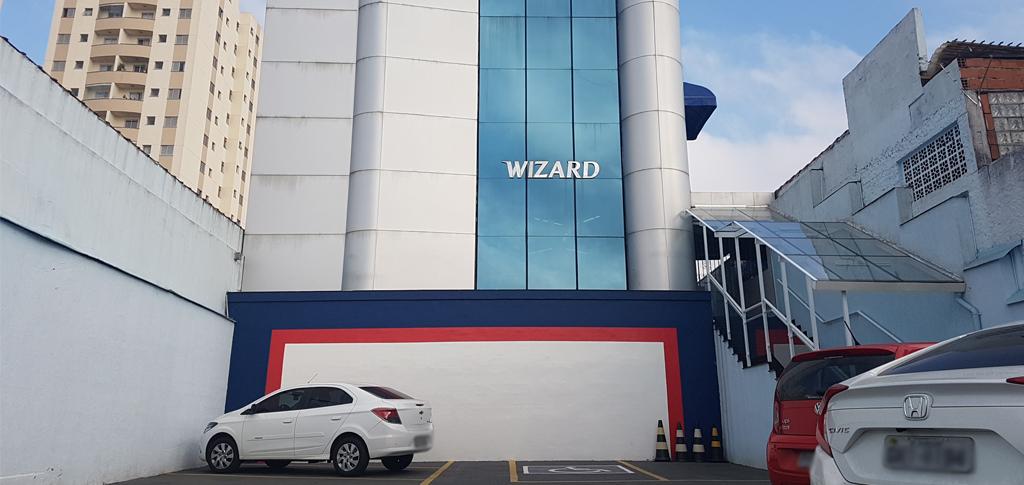 Fachada unidade Wizard Guarulhos