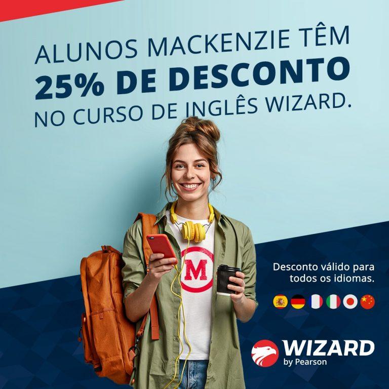 Parceria Wizard e Mackenzie