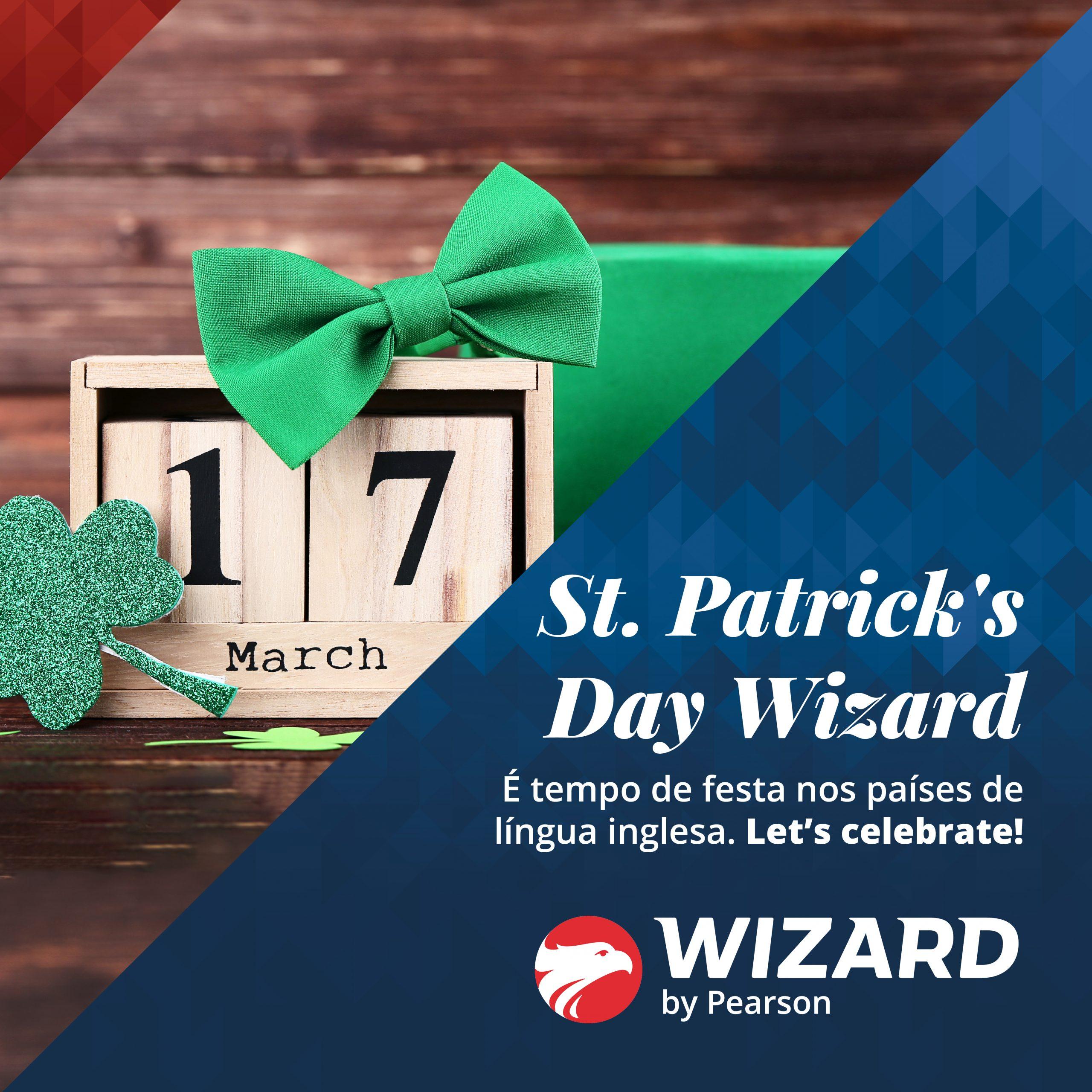 Saint Patricks day Wizard